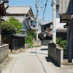 早川の通り