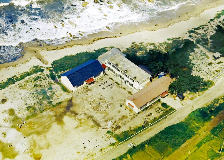 昭和44年頃の野潟小学校