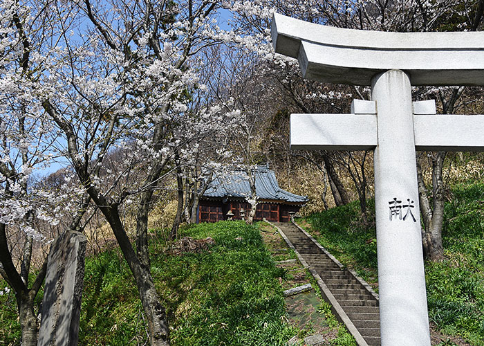 岩ヶ崎の伊須流岐神社