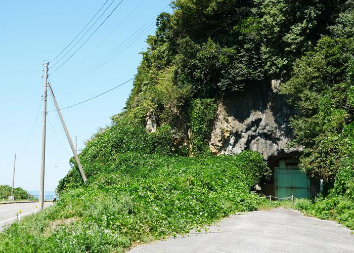 一跳山の旧トンネル